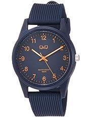 [シチズン Q&Q] 腕時計 アナログ 防水 ウレタンベルト VS40-012 ネイビー