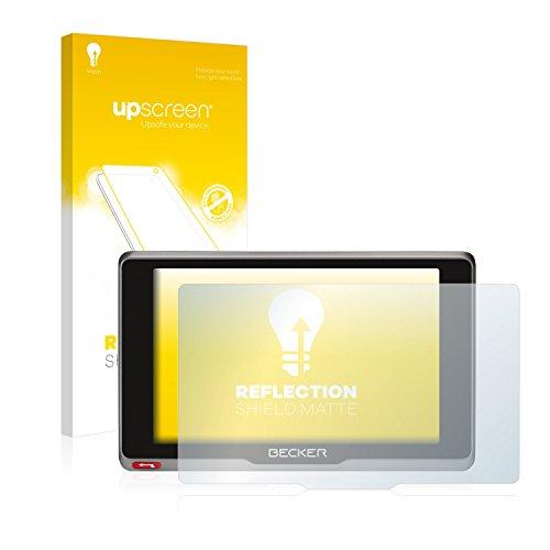 upscreen Entspiegelungs-Schutzfolie kompatibel mit Becker Transit.7SL EU – Anti-Reflex Displayschutz-Folie Matt
