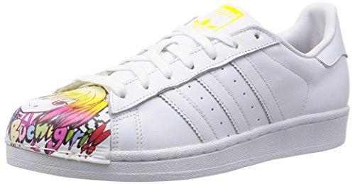adidas Herren Sneaker, Weiß, 44 EU