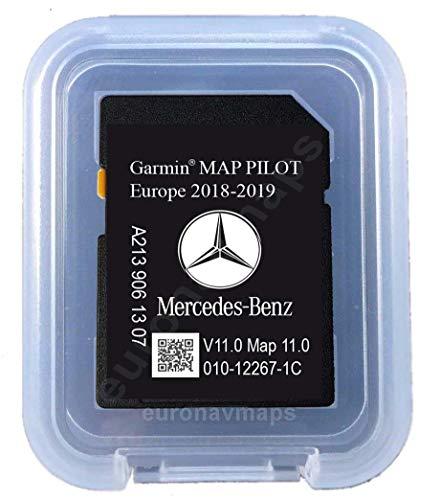 SD Karte Mercedes Garmin MAP Pilot Europe 2018 - STAR2 - A2139063605