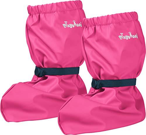 Playshoes Baby , leichte Krabbel-Schuhe für Jungen und Mädchen, mit Playshoes-Motiv, Pink (pink 18), M