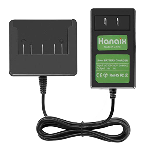 Hanaix New 18V Lithium Battery Charger Compatible with Bosch BAT609 BAT609G...