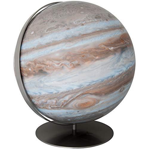 COLUMBUS Leuchtglobus Jupiter D 40 cm Planetenglobus handkaschiert, Edelstahl