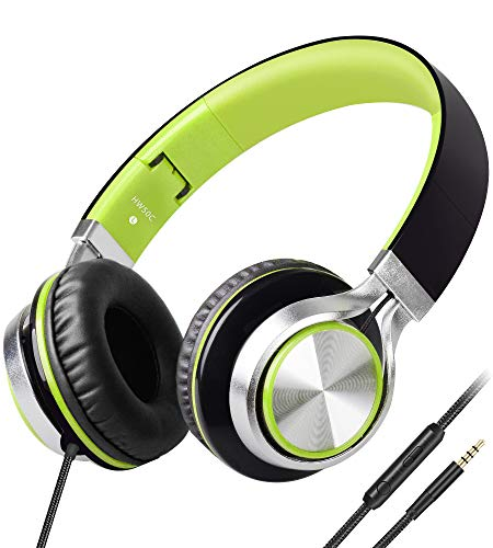 Headphones,BienSound HW50C Stereo Folding Headsets Strong Low Bass...