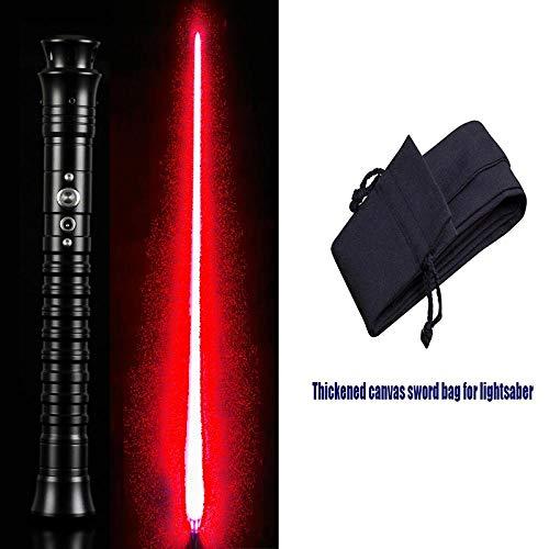BTYKJ Star Wars Force lightsaber multi-sound effects battle props super metal handle sound light toy