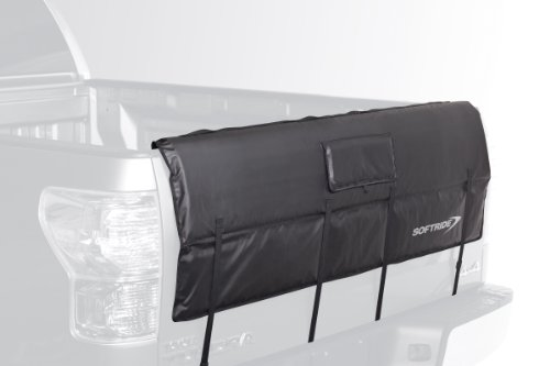 Softride 26461 A Pick Up Shuttle Pad Black 54' Tailgate Bike Rack for Bikes, Surfboards or SUP