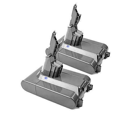 Turpow V7 - Batería de repuesto para aspiradora V7, 21,6 V, 4,0 Ah, batería de ion de litio, compatible con Dyson V7 Motorhead Pro Dyson V7 Trigger Dyson V7 para coche y barco 214730-01