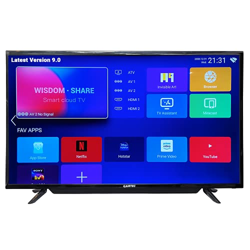 eAirtec 109 cms (43 inches) Full HD Smart LED TV 43ATDJ (Black) (2020 Model)…