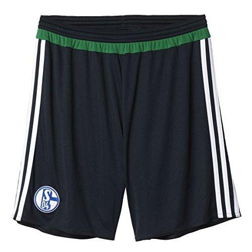 adidas Herren SockenstutzenAusweichtrikot Schalke 04 Shorts, Night Grey/Green/White, M
