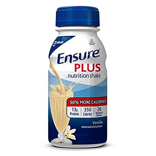 Ensure Plus Nutrition Shake, Vanilla, 8 ounces, 1Pack (30 count Each )