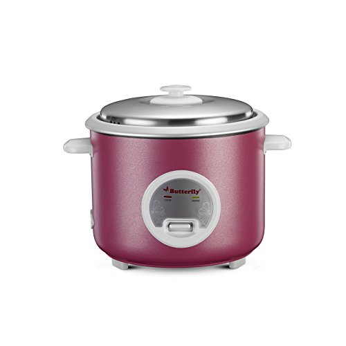 Butterfly Iris 1.8-Litre Rice Cooker (Purple)