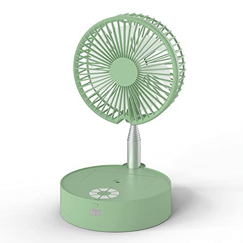 Yunyan Refrigeración portátil a control remoto para ventiladores, pulverizador de hidratación con luz, larga vida útil, batería de aire evaporativo