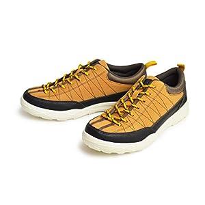 [エドウィン] スニーカー メンズ アウトドアシューズ アクティブシューズ 撥水加工 軽量設計 ウォーキング 防滑 コンフォート メッシュ 通気性 カジュアル 靴 メンズシューズ Mustard 27cm