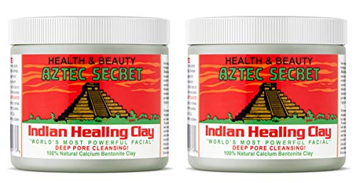 Aztec Secret Indian Healing Clay Deep Pore Cleansing, 1 Pound (Pack of 2)