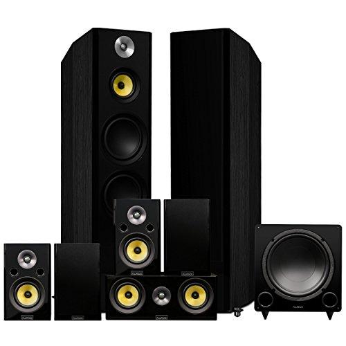 Fluance Signature HiFi Surround Sound Home Theater 7.1 Channel Speaker System