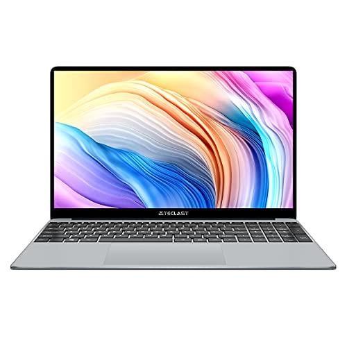 TECLAST F15 Plus PC Portatile 15,6 Pollici Laptop 8GB RAM 256GB SSD Notebook,fino a 2.6GHz Intel N4120 Processore,Windows 10 Home,1920x1080FHD,2.4GHz/5.0GHz WiFi,Mini HDMI,Bluetooth 4.2