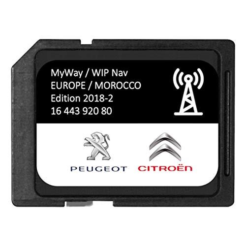 Versión 2018/2019 - Tarjeta SD GPS Europa RNEG 2018-2 Peugeot Citroen