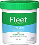 Fleet Adult Glycerin Suppositories 50-Count (2-Pack)