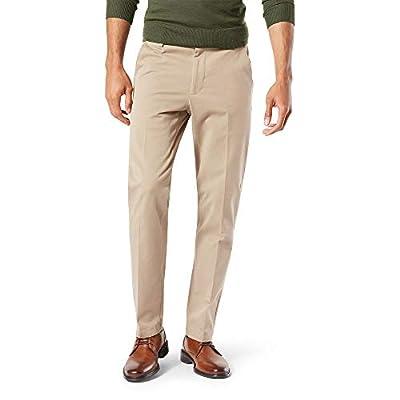Dockers Men's Slim Fit Workday Khaki Smart 360 Flex Pants, Safari Beige (Stretch), 36W x 32L by Dockers