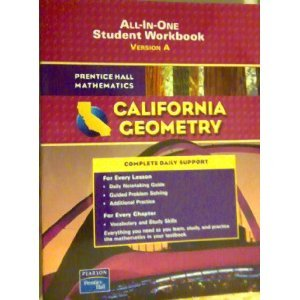 Geometry All-in-One Student Workbook California Edition