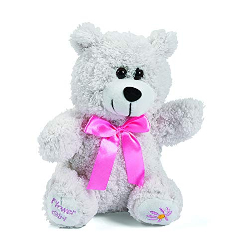 Plush Flower Girl Gift Bear