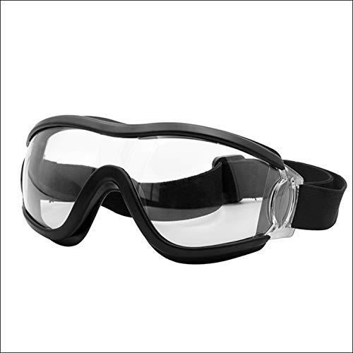 Sposune Lentes de Seguridad prevención antiviral Negro, gogles de protección, gogles de Seguridad, Gafas de Seguridad, Gafas de protección.