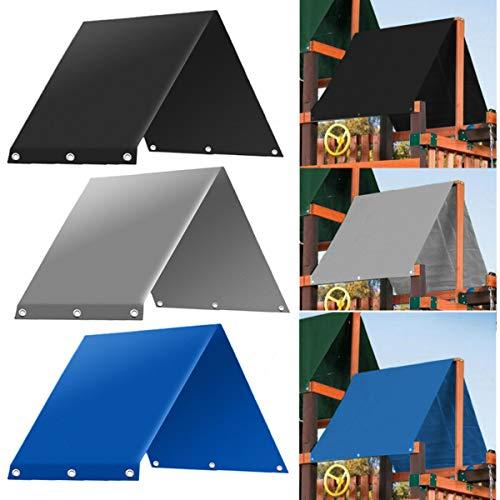 dDanke 132 x 226 cm Outdoor-Kinderspielplatz-Schaukel-Baldachin, Ersatzplane, wasserdicht, Campingzelt, Sonnenschutz (blau)