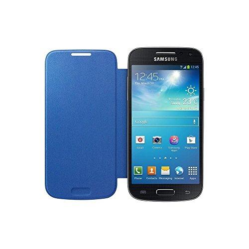 Samsung Custodia a Flip per Galaxy S4 Mini, Azzurro
