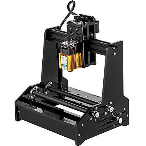 VEVOR Macchina CNC 15W Mini Incisore Laser Incisore cilindrico Incisore Laser Controllo Grbl Stampante per Incisione USB Incisore di Legno Incisione di Oggetti Cilindrici