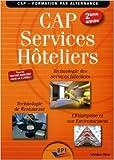 CAP Services hôteliers 2ème année - Elève de Jean-François AUGEZ-SARTRAL ,Christiane BALANGER ( 15 mai 2014 ) - 15/05/2014