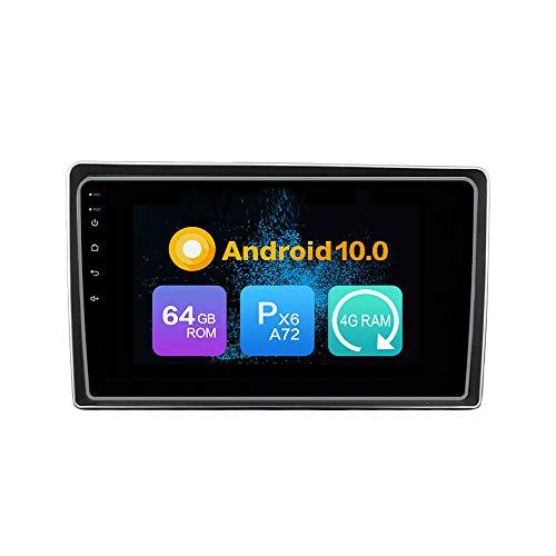 WOSTARS Android 10 4G Ram 64G ROM PX6 Cortex A72 GPS Navigation Radio Steering Wheel Control IPS Bluetooth DSP WiFi for Mahindra KUV100