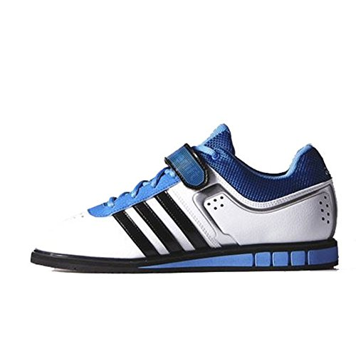 adidas Performance Men's Powerlift.2 Trainer Shoe,White/Black/Bright Royal,8 M US