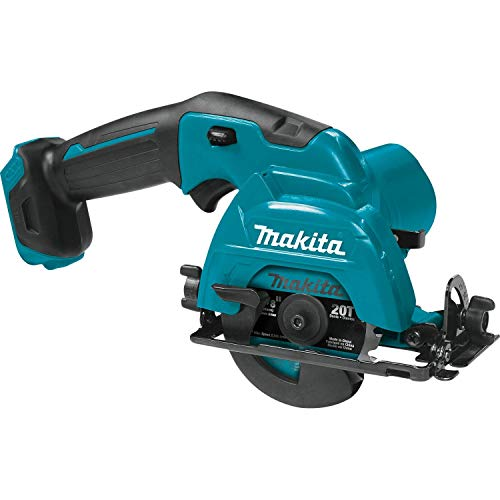 Makita SH02Z 12V Max CXT Lithium-Ion Cordless Circular Saw, 3-3/8', Teal