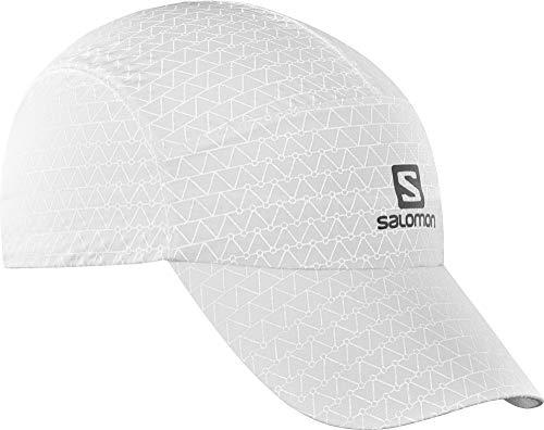 Salomon, Reflektierende Laufkappe, REFLECTIVE CAP, Unisex, Verstellbar, Einheitsgröße, Schwarz, LC1039700