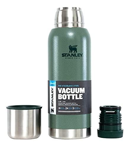Stanley, 8017, Garrafa Térmica All Day Large Adventure 1.1 Litros, cor Verde, Aço