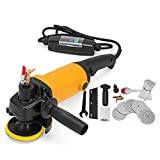 FlowerW Wet Polisher 220-240V Electric Wet Stone Polisher Variable Speed 1100W Hand Grinder