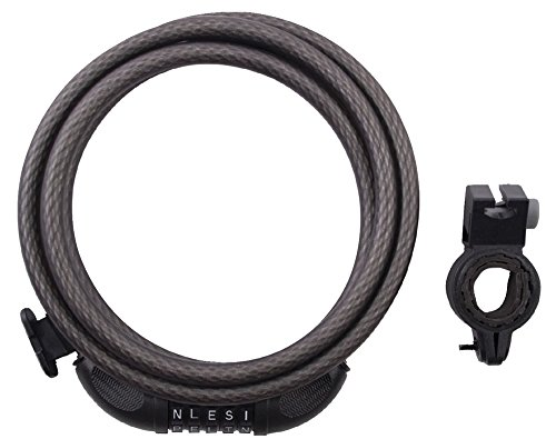 Master Lock Cable Lock, Set Your Own WORD Combination Bike Lock, 6 ft. Long, 8220D
