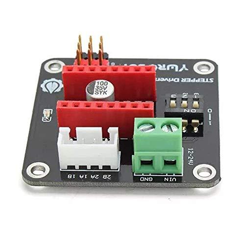 KXA 3pcs 42 Impresora 3D Paso a Paso Tarjeta de ampliación de la impulsión del Motor 8825 / A4988
