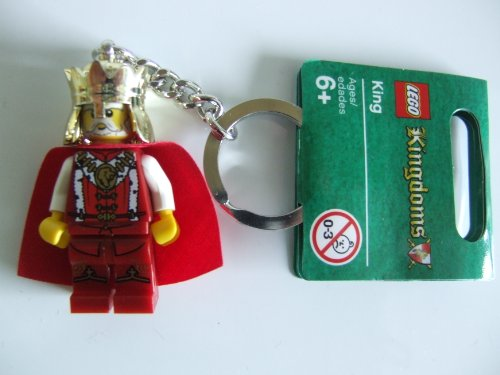 LEGO 4593423 Kingdoms - Llavero con Figura de Rey