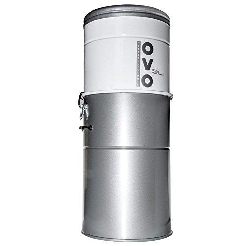 OVO-700ST-35H, zentralisierter Staubsauger, Stahl, Grau, 1700 W, 65 Dezibel