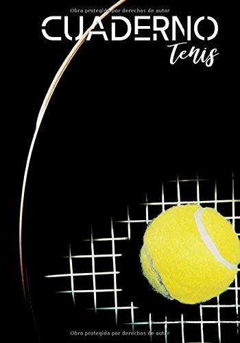 Cuardeno tenis: Diario para los aficionados al tenis - amateur o profesional - pasión por el tenis - deporte de raqueta| 100 páginas en formato de 7*10 pulgadas (Spanish Edition)