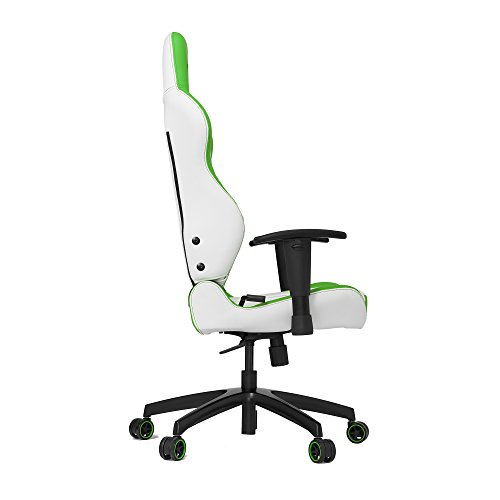 VERTAGEAR Chaise de Gaming VG-SL2000_PK - Medium, Blanc/Vert, Taille M