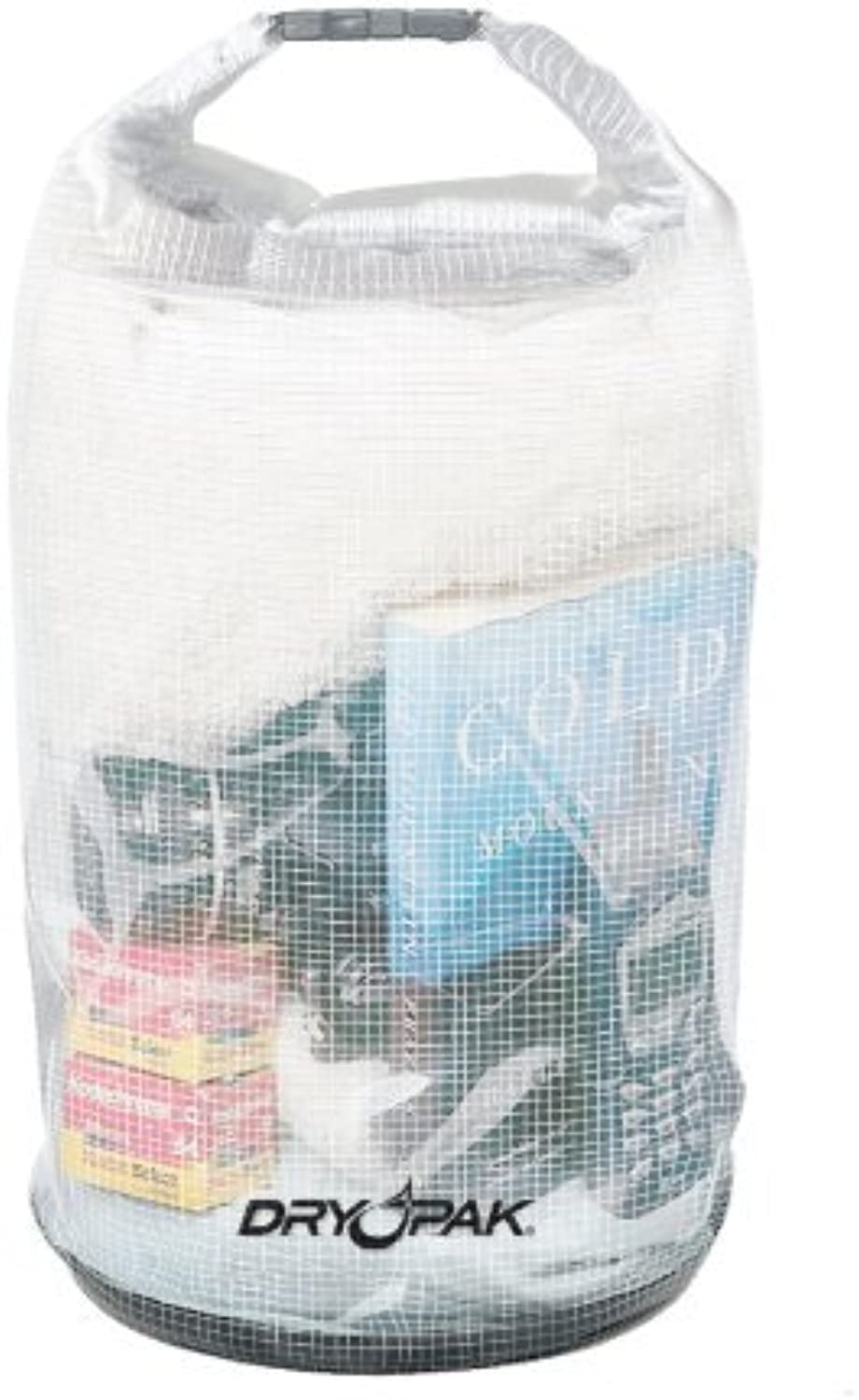 DRY PAK WB3 Roll Top Dry Gear Bag, Reinforced Clear, 9.5 X 16 by Kwik Tek