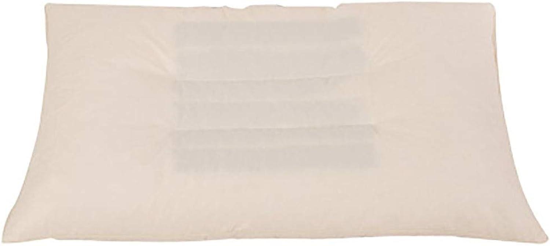 Oreiller Sarrasin Oreiller en Latex Oreiller à Particules Adulte Enfant Soins Oreiller Cervical Aide Sommeil Respirant,48x74cm