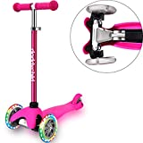 3 Wheel Scooters for Kids, Kick Scooter for Toddlers 2-6 Years Old, Boys and Girls Scooter with...