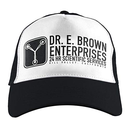 Dr E Brown Enterprises Back To The Future, Trucker Cap