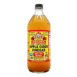 Certified Bragg Organic Raw Apple Cider Vinegar is unfiltered, unheated, unpasteurized and 5% acidity. Contains the amazing Mother of Vinegar which occurs naturally as strand-like enzymes of connected protein molecules. It's a wholesome way to add de...