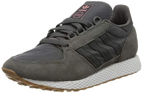 adidas Forest Grove, Zapatillas de Gimnasia Mujer, Gris (Grey Five/Carbon/Tactile Rose F17), 36 2/3 EU