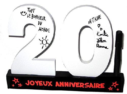 P2G - Dédicaces 3D anniversaire 20 ans - 23 x 29 cm