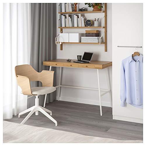 BestOnlineDeals01 Schreibtisch PåHL, Bambus, 102 x 49 cm, robust und pflegeleicht Schreibtische für Zuhause. Schreibtische & Computertische Tische und Schreibtische. Möbel Umweltfreundlich.